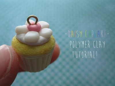 ✿ Daisy Cupcake Polymer Clay Tutorial! [Sweetorials Audition]