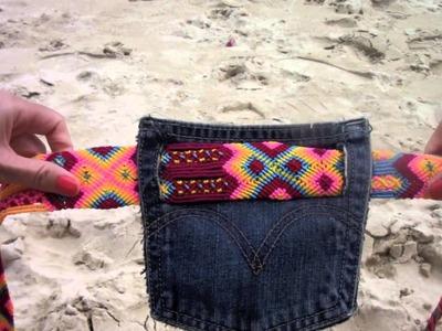 DIY Seiba pocket purse