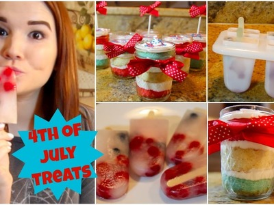 EASY Last Minute 4th of July Treats! | Lindsey Hughes