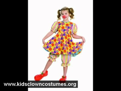 Halloween Costume Ideas: Kids Clown Costumes -  Kidsclowncostumes.org.