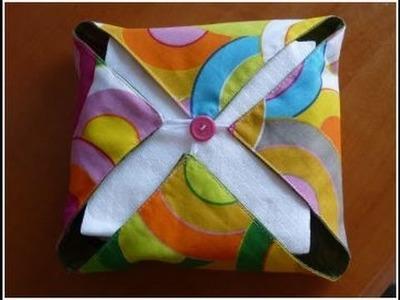 How to make a napkin holder