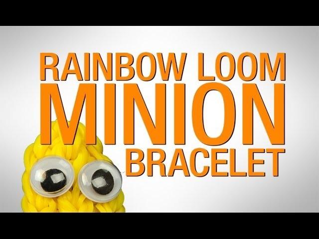 How to make a Rainbow Loom MINION Bracelet HD