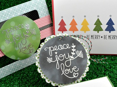 Intro to the Peace Joy Love stamp set