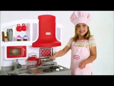 Little Tikes Playhouse and Little Tikes Kitchen excellent christmas gift idea