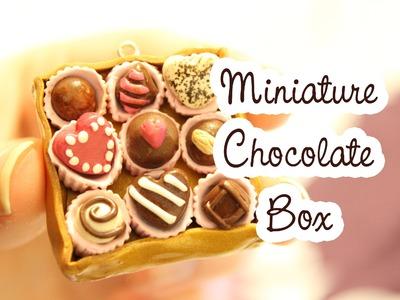 Miniature Chocolate Box Tutorial