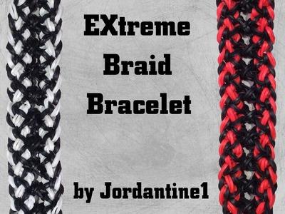 New EXtreme Braid Bracelet - Rainbow Loom