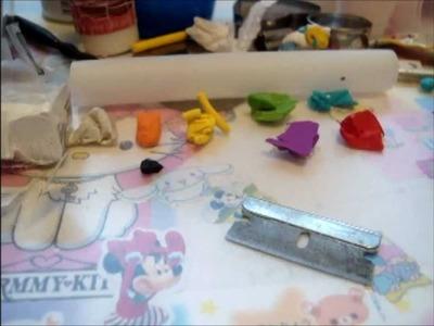 Nyan Mamegoma Polymer Clay Tutorial