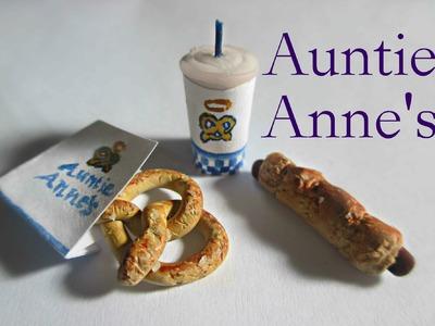 Polymer Clay Auntie Anne's Pretzels Tutorial (Miniature Mondays)