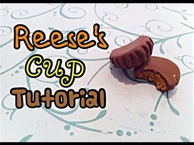 Polymer Clay Reese's Cup Tutorial