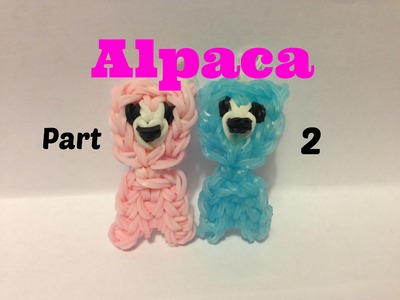 Rainbow Loom - Alpaca Charm Part 2