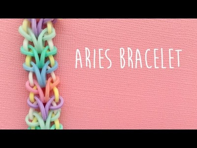 Rainbow Loom Bands Aries Bracelet Tutorial