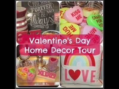 Valentine's Day Home Decor Tour {2015 Edition}