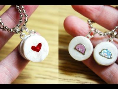 Valentine's Tutorial: Friendship Couple's Charms ft. HeyItsViri