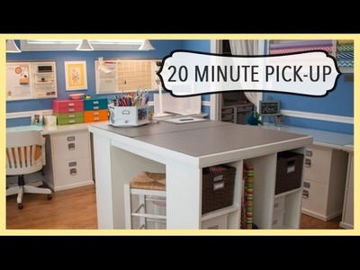 20 Minute Pick-Up | Organized Cleaning Strategy | Dealing With a Big Mess