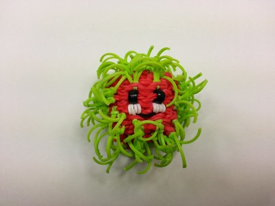 3-D Happy Rambutan Tutorial by feelinspiffy (Rainbow Loom)