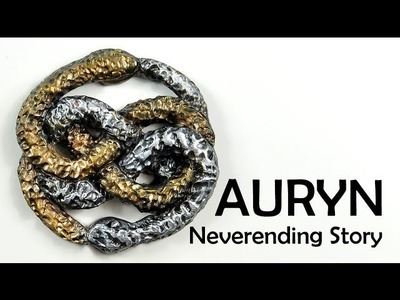 AURYN - Neverending Story - polymer clay TUTORIAL