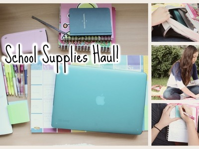 Back to School Supplies Haul 2014!