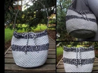 Borse in fettuccia e non solo! Adel's Handmade Creaciones (t-shirt yarn, trapillo)