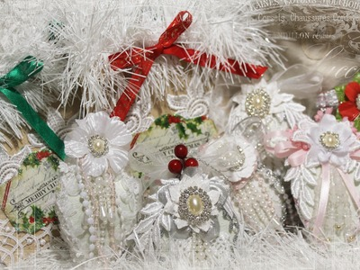 Christmas Ornaments and Gift Bags with Tresors de Luxe