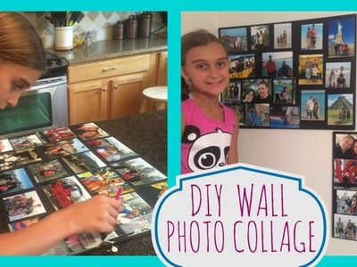 DIY PROJECT: WALL PHOTO COLLAGE