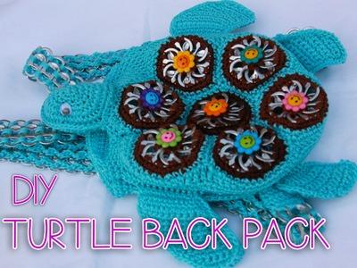 DIY: Turtle shaped back pack part 1