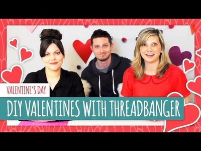 DIY Valentines with Threadbanger - HGTV Handmade