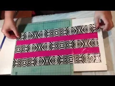Duct Tape Make Up Bag Tutorial