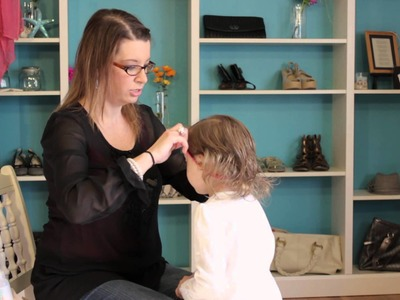 How to Keep Headbands on a Toddler's Head : Child & Baby Clothing