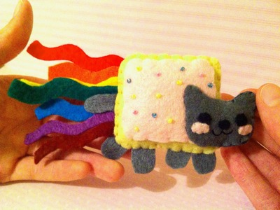 How to Make a Kawaii Nyan Cat Plushie
