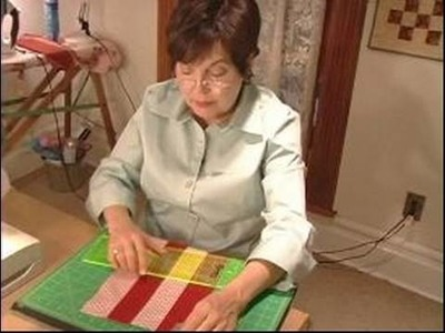How to Make Quilts : How to Cut Pieces & Patches for a Quilt