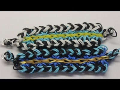*NEW* Zigburst Bracelet Tutorial on the Rainbow Loom