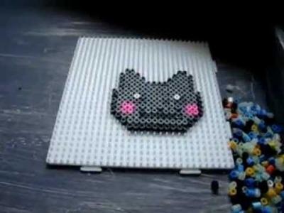 Nyan Cat Speed Build - Hama Bead Pixel Art