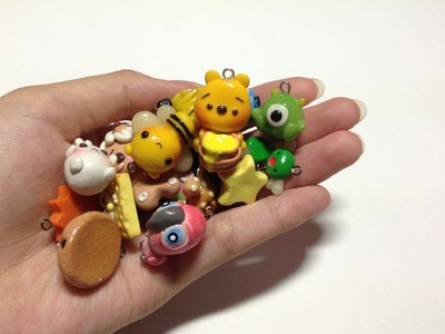 • ◡ • Polymer Clay Charms Update #1