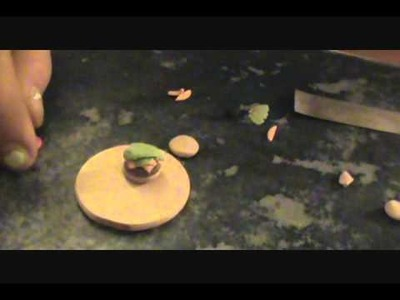 Polymer Clay Hamburger
