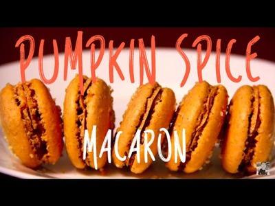 Pumpkin Spice Macaron (By BlanchTurnip)