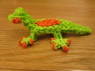 Rainbow Loom Gecko Lizard Charm. Gomitas