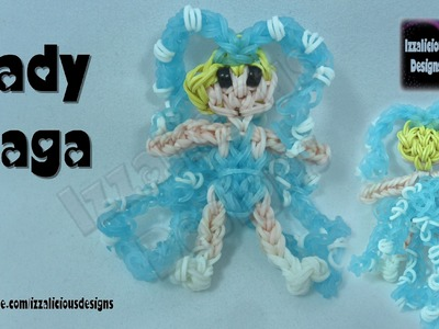 Rainbow Loom Lady GaGa Action Figure.Charm Octopus Outfit - Gomitas