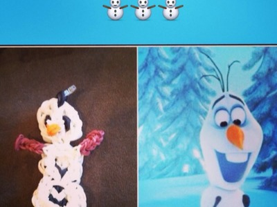 Rainbow Loom Olaf Tutorial