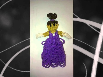 Rainbow Loom - Princess with Ruffled Dress & Hair