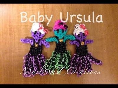 Rainbow Loom Ursula: Baby ursula