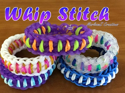 Rainbow Loom Whip Stitch Bracelet (Hook Only)
