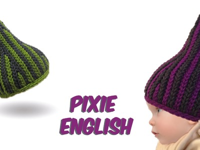 Slip stitch crochet - Pixie Babyhat - (bosnian crochet) english version