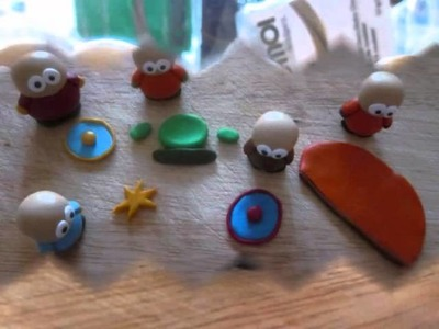 Southpark Making Off! Sculpey, Fimo, Polymer clay