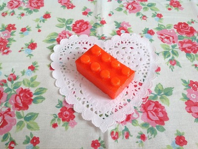 Tutorial: Homemade Lego Squishy ♡