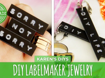 Use a Labelmaker to Make DIY Jewelry! - HGTV Handmade