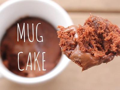 3-Minute Microwave Chocolate Mug Cake