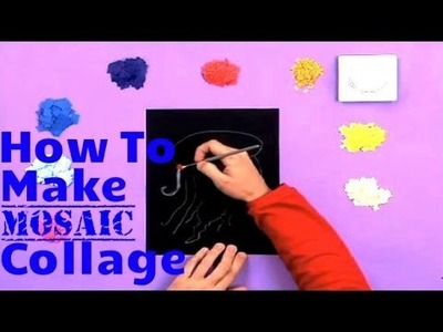 Art Attack | How To Make A Mosaic Collage | Disney India Official