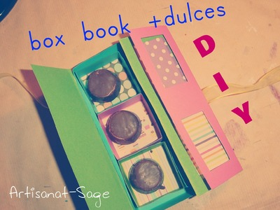 Box book+dulces. DIY (gift idea)