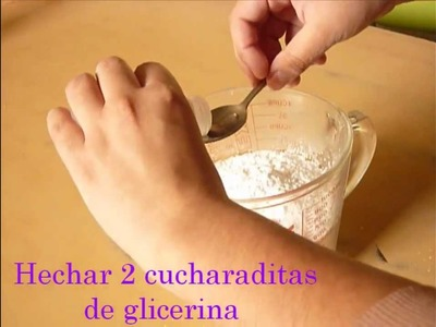 ¿Como hacer porcelana fría?. How to make a Cold Porcelain?