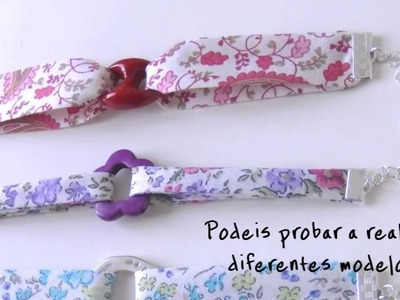 Companion Video 2 DIY - Pulsera de tela con eslabon central